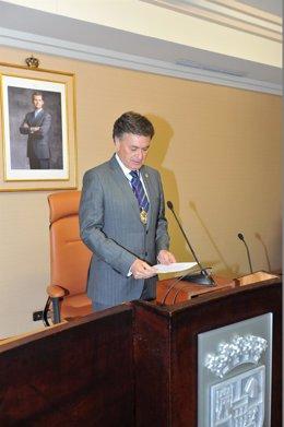 Investidura de Francisco Vázquez como presidente de la Diputación de Segovia