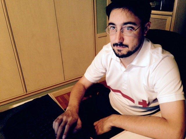 El voluntario Fernando Sarvisé ayudará a la población en Nepal