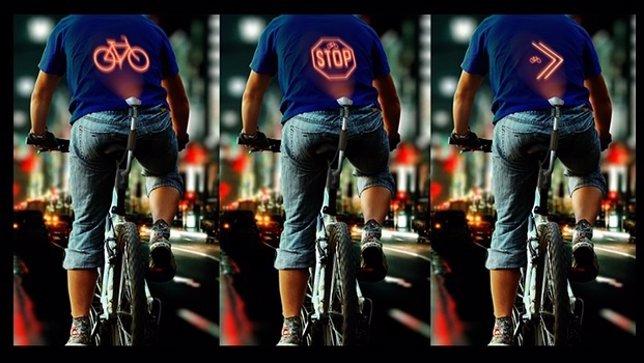 Proyector para ciclistas