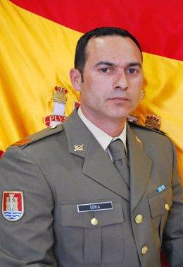 El cabo Francisco Javier Soria Toledo, fallecido en Líbano