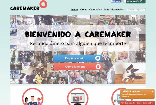 Web de Caremaker