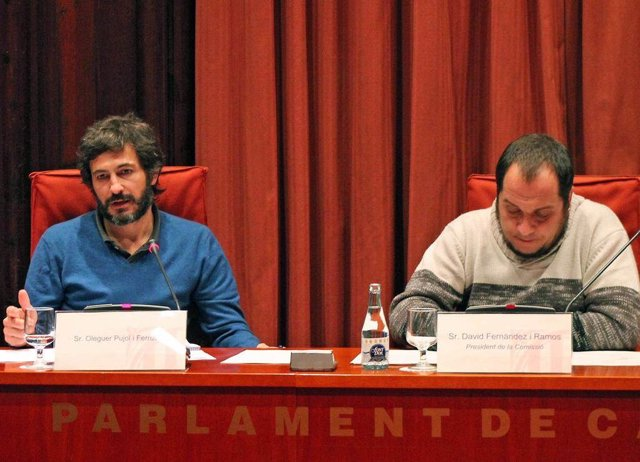 Oleguer  Pujol y David Fernández