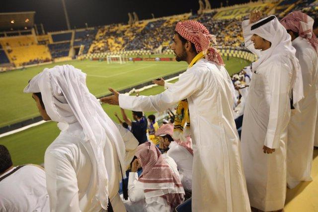 Fútbol en Doha, Qatar.