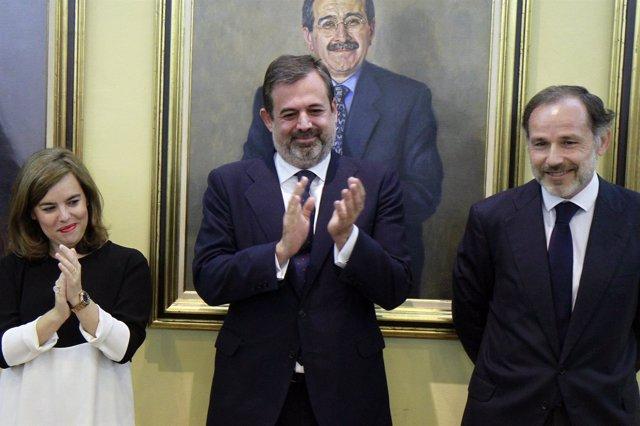 Federico Ramos de Armas toma posesión como subsecretario de Presidencia
