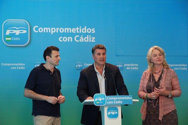 Ignacio Romaní, portavoz del PP en el Ayuntamiento de Cádiz