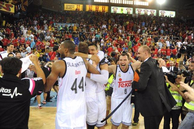 El Real Madrid, campeón de Liga ACB