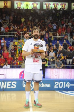Sergi Llull, MVP de la final ACB