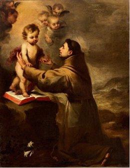 San Antonio con el Niño de Murillo