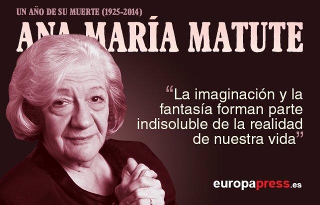 Un año sin Ana María Matute