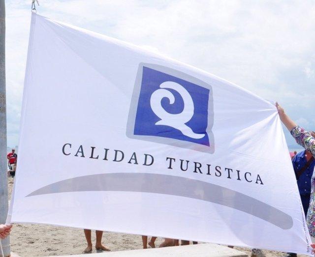 Bandera Q De Calidad En Playa