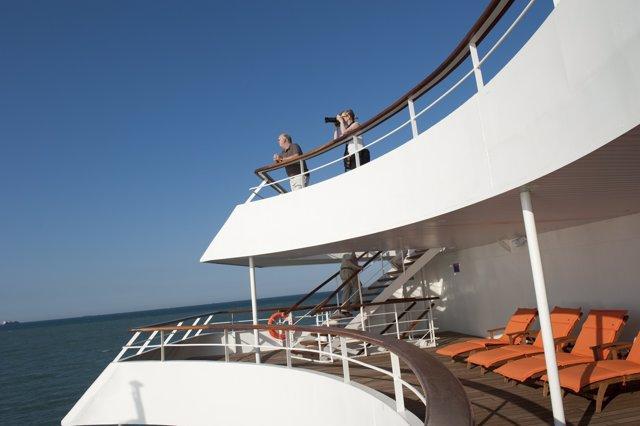 Crucero, barco, vacaciones
