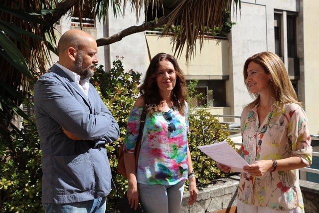 Martínez y la Plataforma contra los despidos en FP