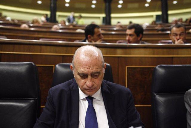 Jorge Fernández Díaz en el Congreso