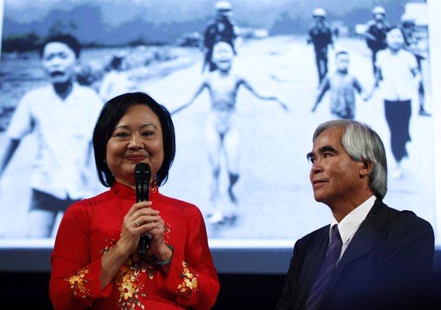 Kim Phuc y Nick Ut, el fotógrafo que inmortalizó su imagen