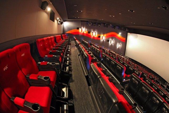 Butacas de cine 4D