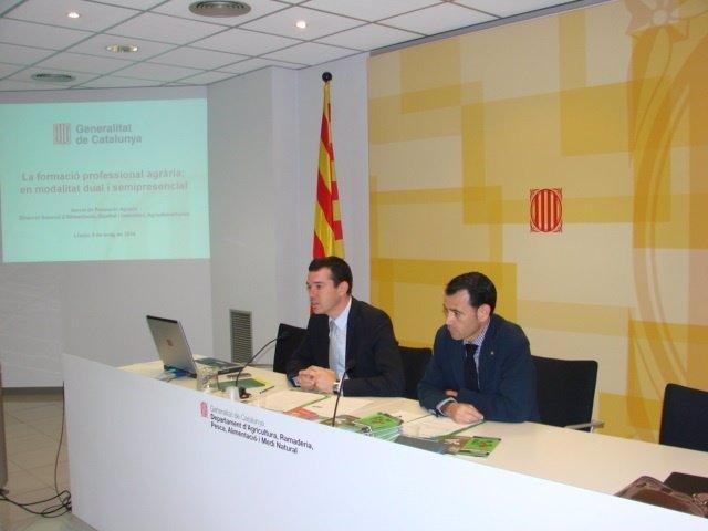Domènec Vila, Miquel Molins (Archivo)
