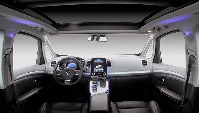 Nuevo Renault Espace interior