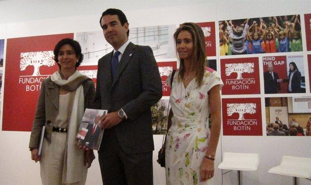 Javier Botín presenta la Memoria 2014 de la Fundación