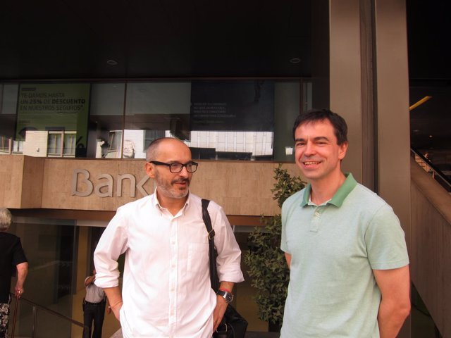 Eduardo Gómez y Andrés Hergoz