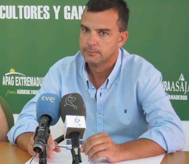 Santiago Prieto, vicepresidente de APAG Extremadura