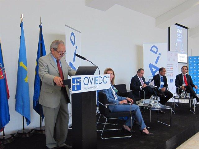 El alcalde de Oviedo, el socialista Wenceslao López, en Asturias Investor's Day