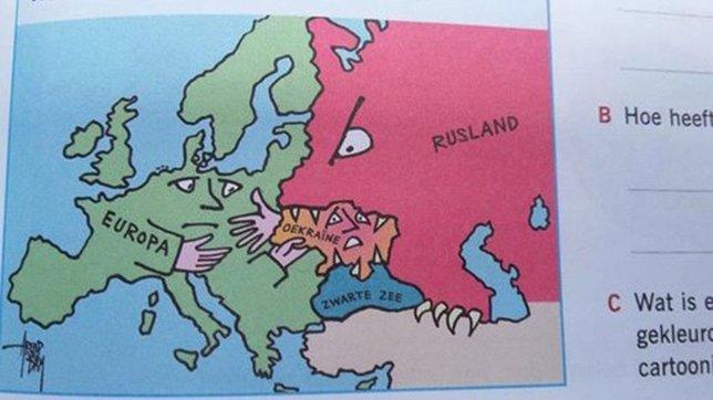 Rusia devora a Ucrania