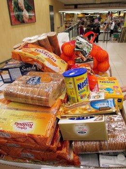 Recogida alimentos Mercadona