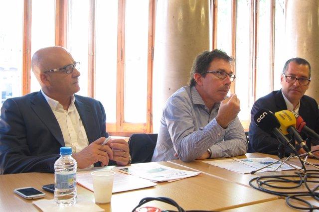 Damià Martínez, Àlex Susanna, Josep Anton Fernández (IRL)