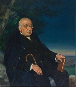 Retrato de D.Arturo Campion, de Javier Ciga.