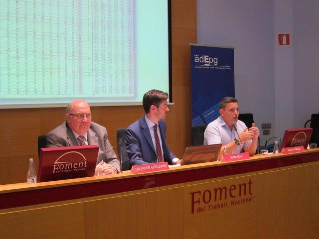 Salvador Guillermo, Jordi Solé, y David Moreno