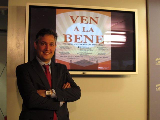 El director general de Cultura José Luis Pérez Pastor presenta 'Ven a la Bene'