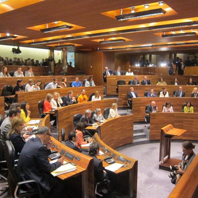 Nuevo hemiciclo, Junta General del Principado de Asturias, parlamento asturiano