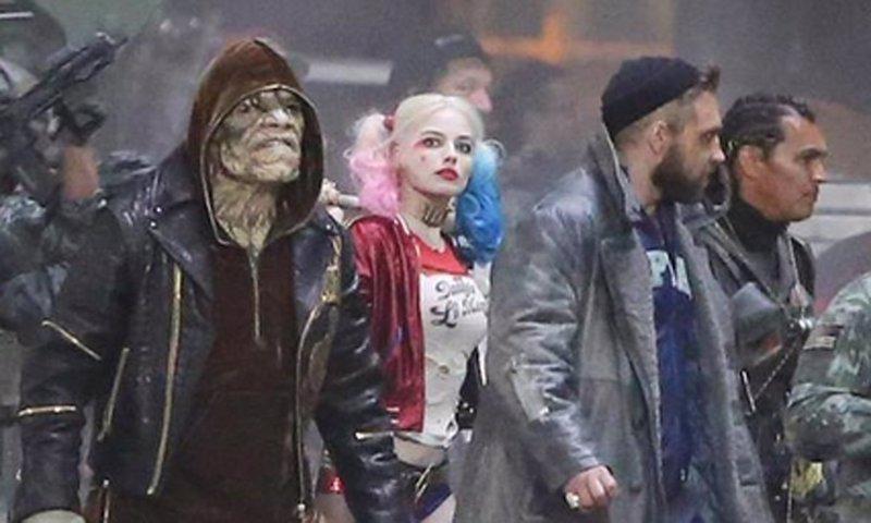 Suicide Squad: Todo listo para la batalla en el set de rodaje