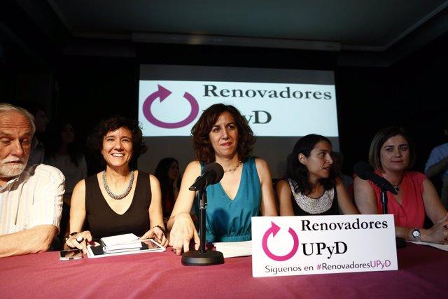 Irene Lozano, de renovadores de UPYD