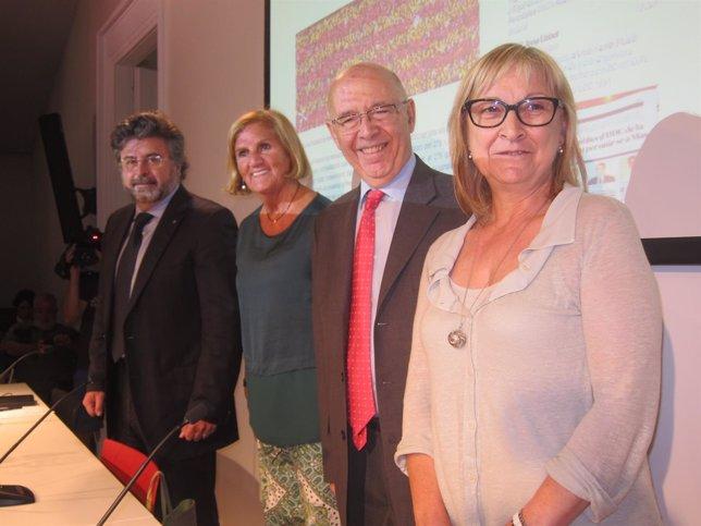 Antoni Castellà, Núria de Gispert, Joan Rigol, Mercè Jou (UDC)