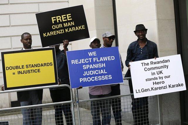 Protestas en Ruanda