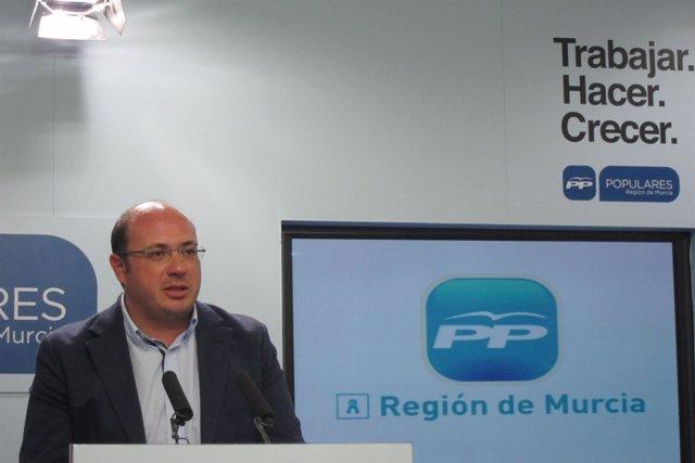 Pedro Antonio Sánchez será el nuevo secretario general del PP murciano