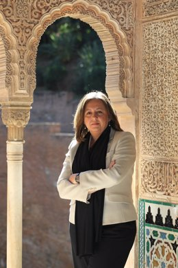 Directora Del Patronato Alhambra, María Del Mar Villafranca