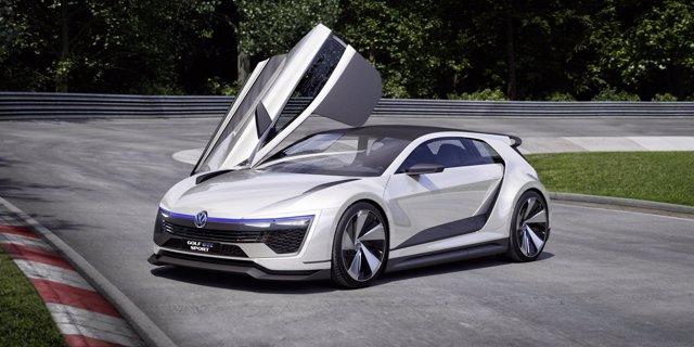 Volkswagen Golf GTE Sport.
