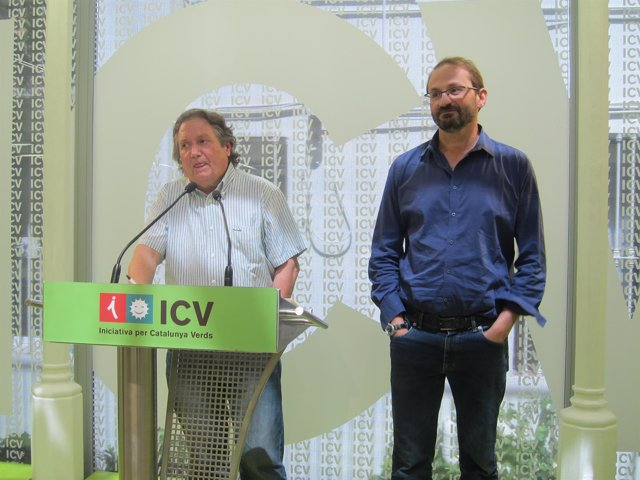 Jaume Bosch y Joan Herrera, ICV-EUiA