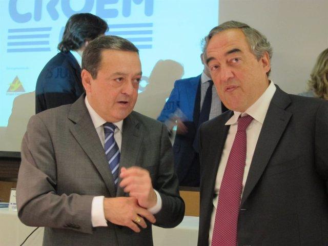 Albarracín y Rosell, en la Asamblea General de CROEM