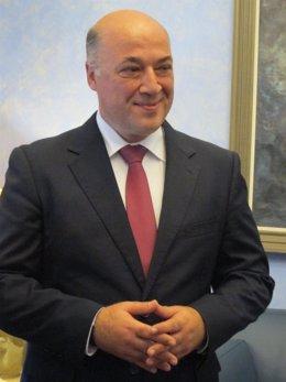 El nuevo presidente de la Diputación de Córdoba, Antonio Ruiz