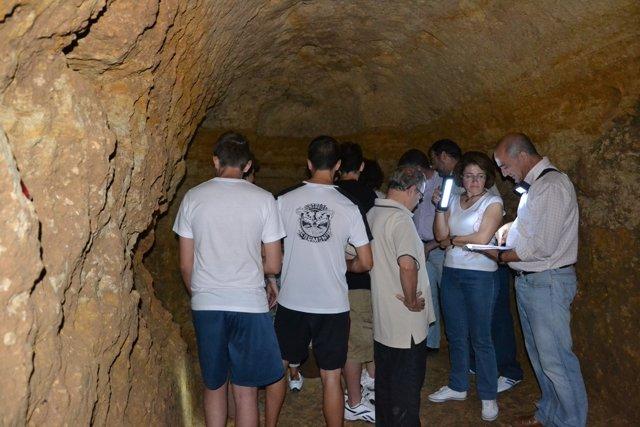 Visita al santuario romano de San felipe