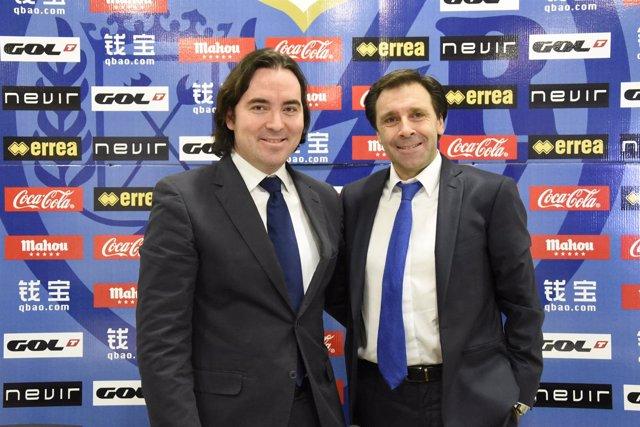 Martín Presa y Felipe Miñambres