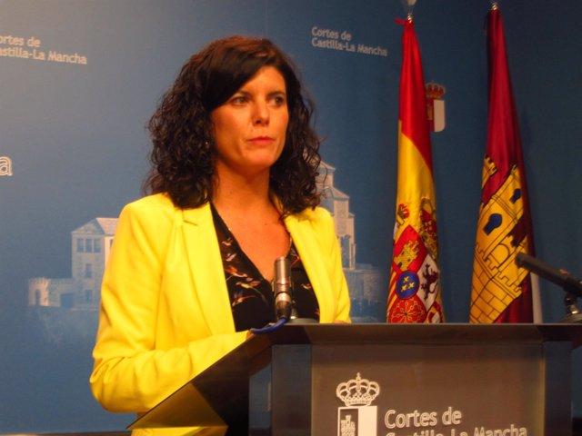Josefa Navarrete, secretaria primera de la Mesa de las Cortes
