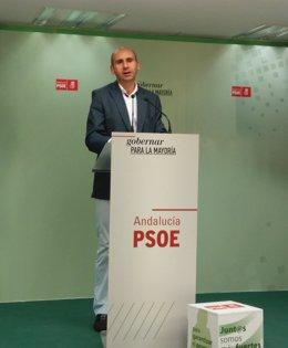 Francisco Conejo PSOE-A secretario política institucional