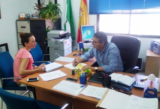 El presidente local del PP de Rincón de la Victoria, Francisco Salado