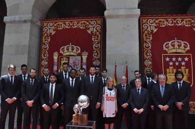 Cifuentes recibe al Real Madrid en la Comunidad