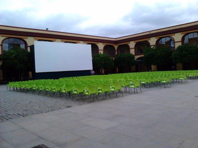 El cine de verano de Diputación está ya preparado.