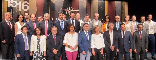 Presentación de la temporada 2015/2016 del Maestranza